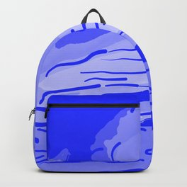 abstract style aurora borealis absdb Backpack