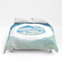 Circle Sky I Comforters