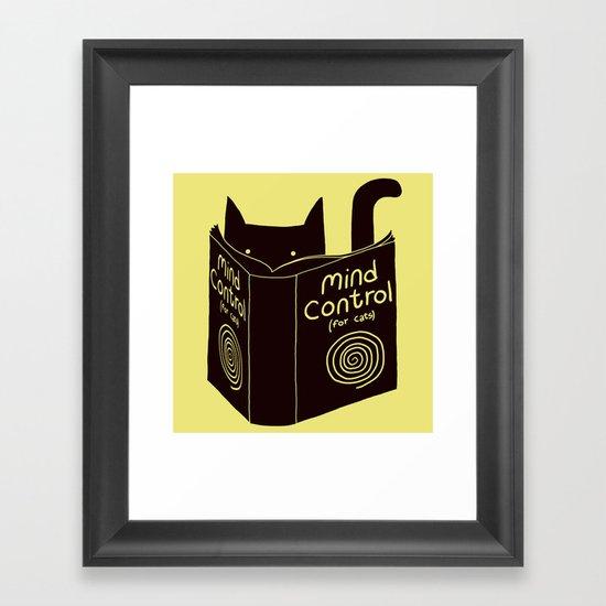 Mind Control (buy this) Framed Art Print