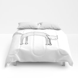 Leaping Cat Comforters