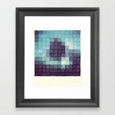 Polaroid Pixels II (Tree) Framed Art Print