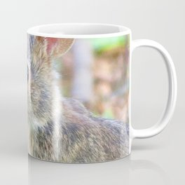 Watercolor Rabbit, Eastern Cottontail 01, Middletown, Maryland Coffee Mug