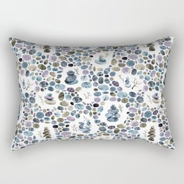 Wishing stones and cairns Rectangular Pillow