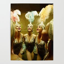 1950's Showgirls Poster