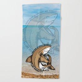(v2) Love yourself! Beach Towel