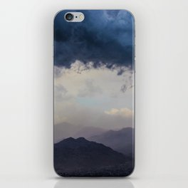 Blue Storm iPhone Skin
