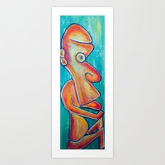 Enki Art Print