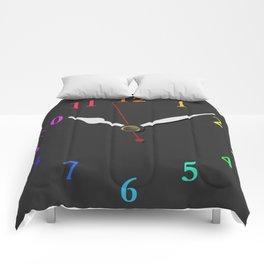 clock Chalkboard Comforters