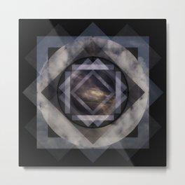 Aether Mandala Metal Print