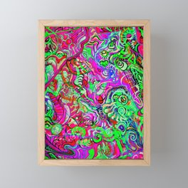 Within Light-years - (collaboration w/ St.Louis Artist Ethan Meyer) Framed Mini Art Print