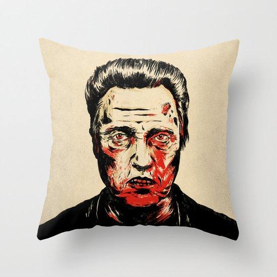 Walken Dead Throw Pillow