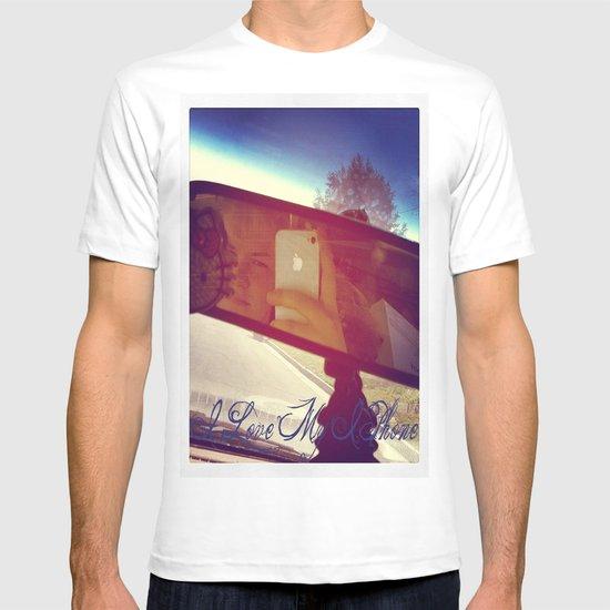 I Love My Iphone T-shirt