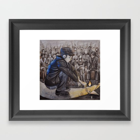 Audience 1 Framed Art Print