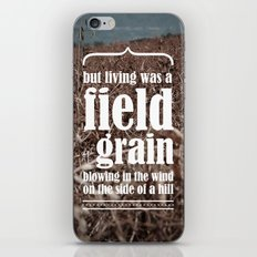 for whom the bell tolls iPhone & iPod Skin