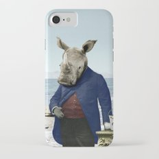Mr. Rhino's Day at the Beach iPhone 7 Slim Case