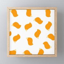 Fox tails Framed Mini Art Print