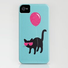 Cool Cat travels like this iPhone (4, 4s) Slim Case