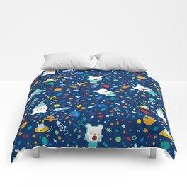 SHANHAIJING-BreadBear-HAI (Space & Aliens) Comforters