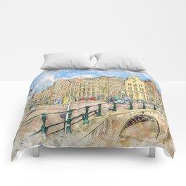 Amsterdam Keizersgracht Comforters