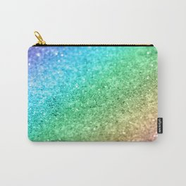Rainbow Princess Glitter #1 #shiny #decor #art #society6 Carry-All Pouch