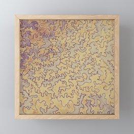 Golden Rose Framed Mini Art Print