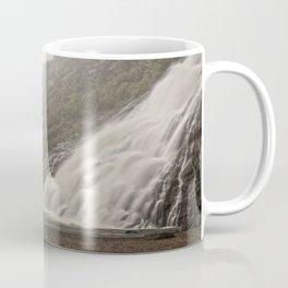 Nugget Falls and Mendenhall Glacier Coffee Mug