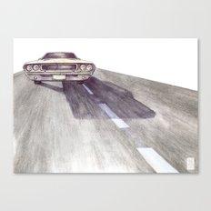 Lost Highway pt.4 Canvas Print
