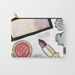 Pretty Makeup Essentials Carry-All Pouch