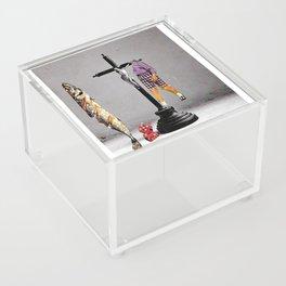 Say Hello To Heaven Acrylic Box