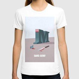 Sans-Serif T-shirt