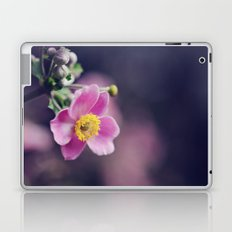 Pretty Pink flower Laptop & iPad Skin