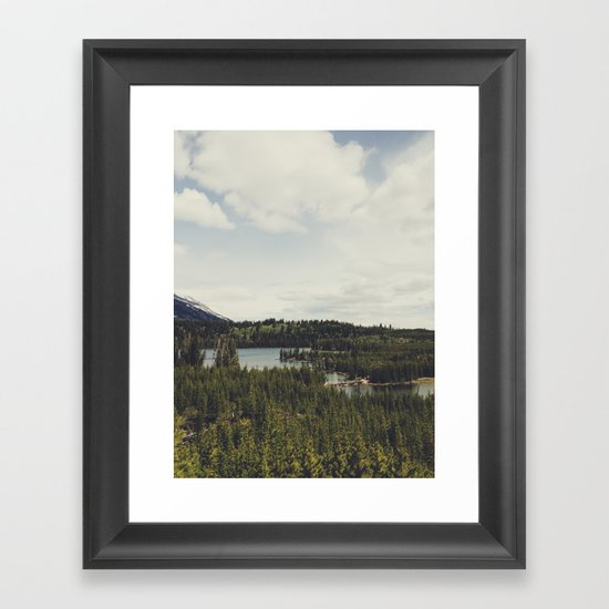 Taggart Lake Framed Art Print