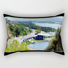 West Tamar Highway Launceston Tasmania Australia Rectangular Pillow