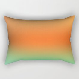 Orange Gradient Rectangular Pillow