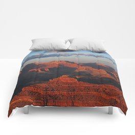 Grand Canyon Sunset Colors Comforters