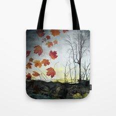 October (Falling) Tote Bag