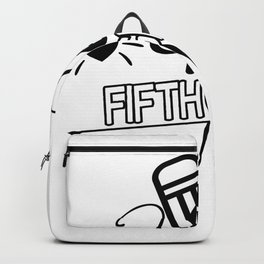 Back to School Hello 5th Grade School Backpack
