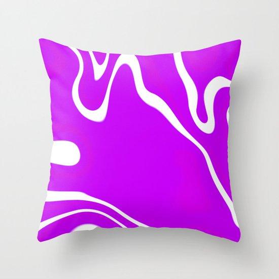 Plurple Throw Pillow