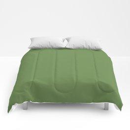 Declaration of Spring ~ Spring Leaf Green Comforters