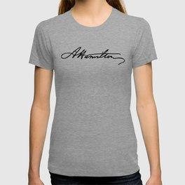 Alexander Hamilton Signature T-shirt