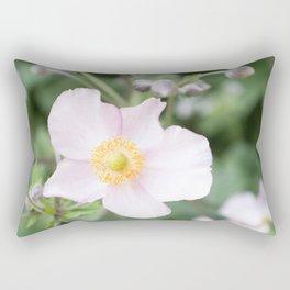 Pink Anemonies after the Rain Rectangular Pillow