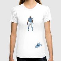 allyson johnson T-shirts featuring One Pride - Calvin Johnson by IllSports