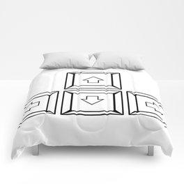 Keyboard Arrows Comforters