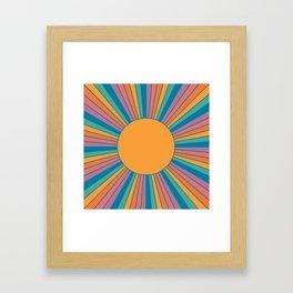 Sunshine State Framed Art Print