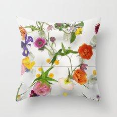 Spring Flowers - JUSTART Throw Pillow
