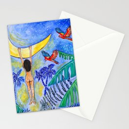 """""""Hanging In There"""" Stationery Cards"""