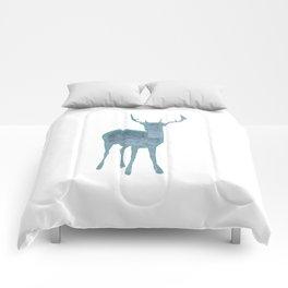 Holiday deer 1- Holidaze Comforters