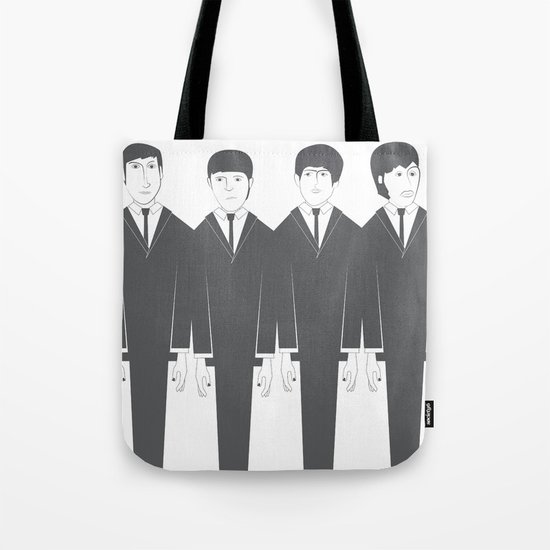 The Fab Four Tote Bag