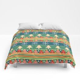 Christmas pattern II Comforters