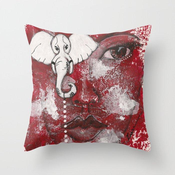 Come Thru Diva Throw Pillow